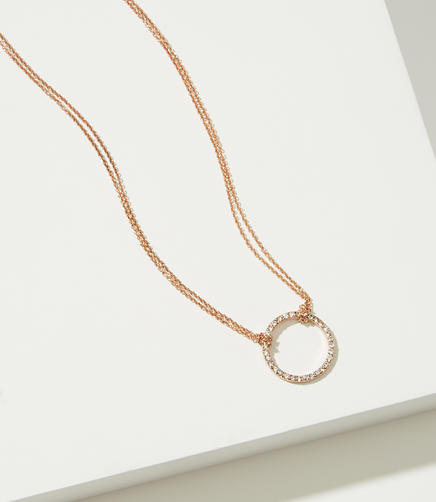 Image of Pave Circle Choker