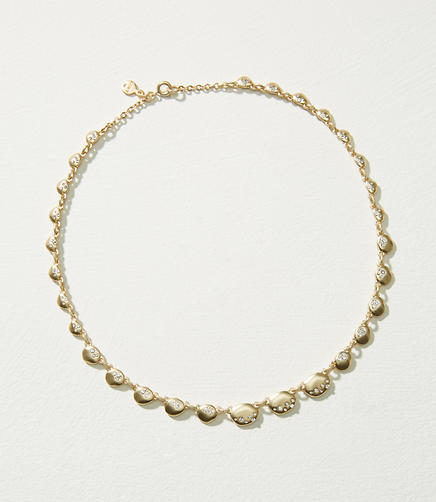 Pave Drop Necklace