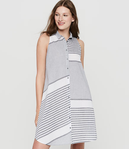 Image of Lou & Grey Stripeout Shirtdress