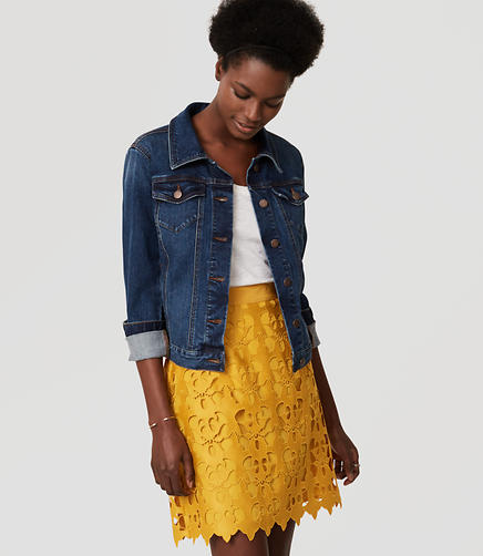 Image of Sunny Lace Skirt