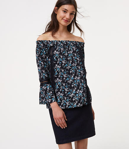 Image of Cutout Off The Shoulder Blouse