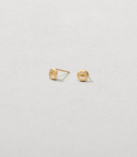 Image of Tai Jewelry Smiley Face Earrings