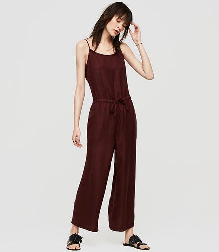 Image of Lou & Grey Brushed Linen Jumpsuit