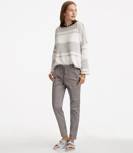 Lou & Grey Drawstring Lived-In Chinos