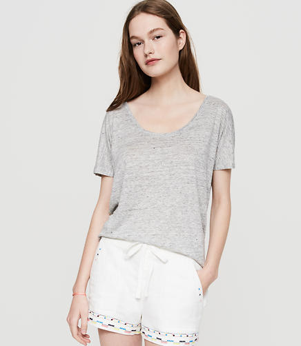 Image of Lou & Grey Folktale Brushed Linen Shorts