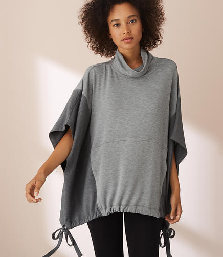 Lou & Grey Blocked Signaturesoft Poncho