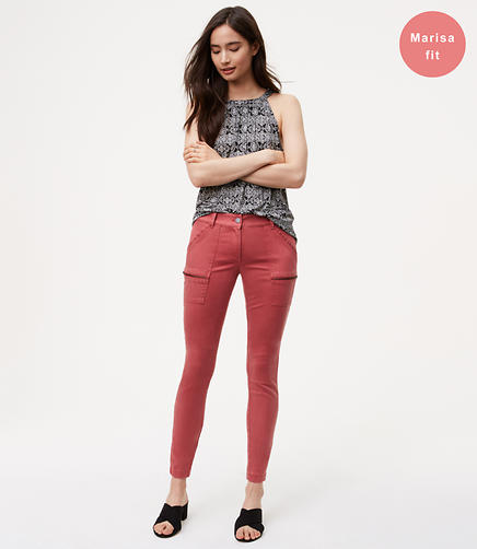Image of Zip Skinny Utility Pants in Marisa Fit