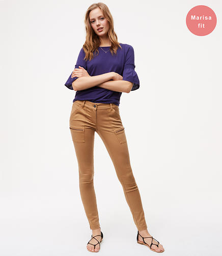 Skinny Utility Zip Pants in Marisa Fit