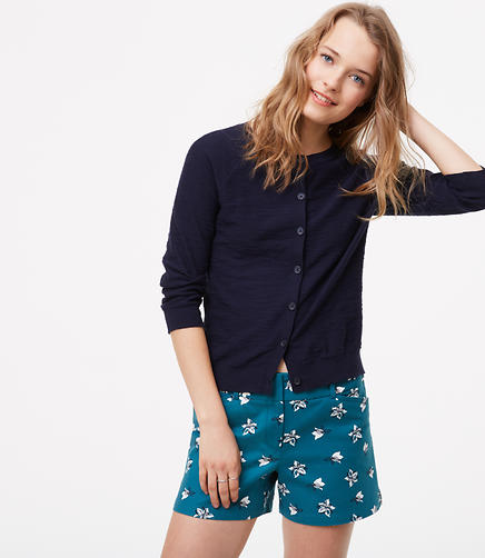 Image of Petaled Riviera Shorts with 4 Inch Inseam