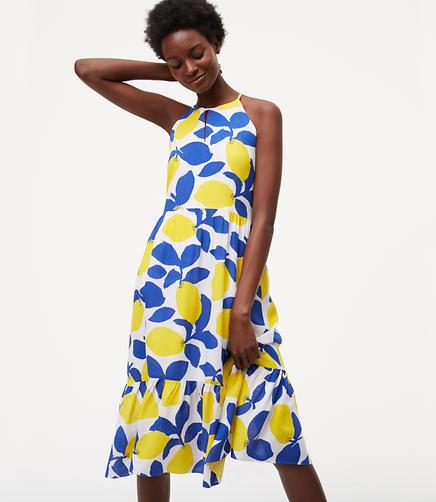 Image of Tall Lemonade Halter Dress
