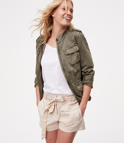 Image of Petite Safari Shorts