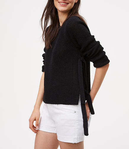 Image of Side Tie Sweater