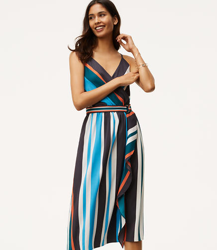 Image of Skyline Wrap Dress