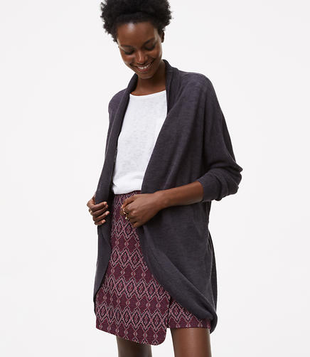Image of Belted Dolman Cardigan
