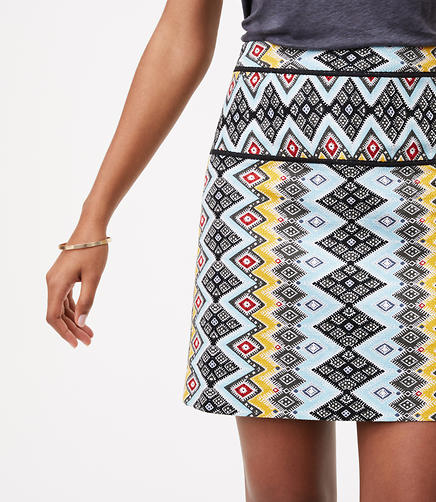 Image of Petite Boho Shift Skirt