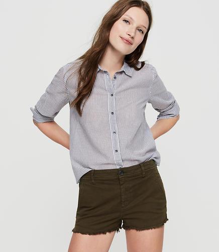 Image of Petite Lou & Grey Break Up Chino Shorts