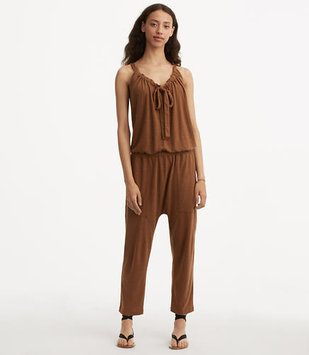 Image of Lou & Grey Linen Jersey Jumpsuit