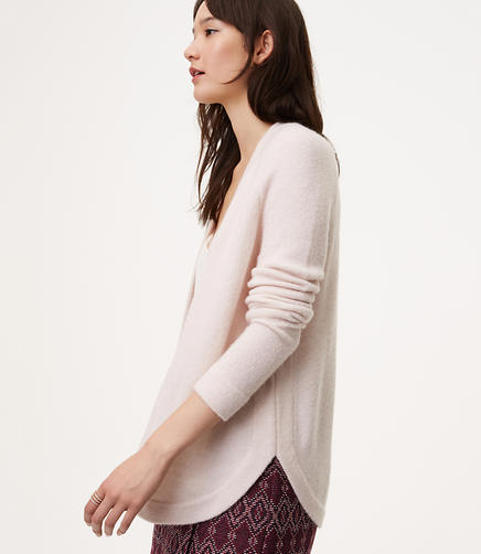 Shirttail Open Cardigan