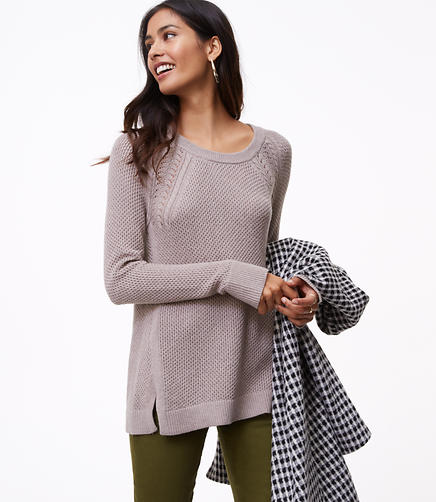Cable Shoulder Sweater