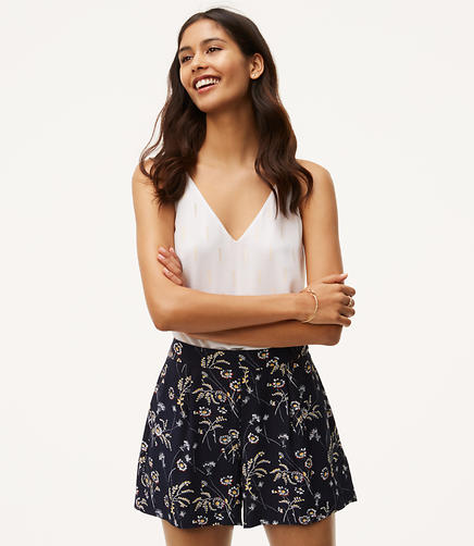 Image of Daisy Pleated Shorts