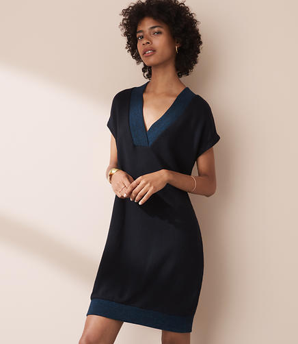 Image of Lou & Grey Double V Dress