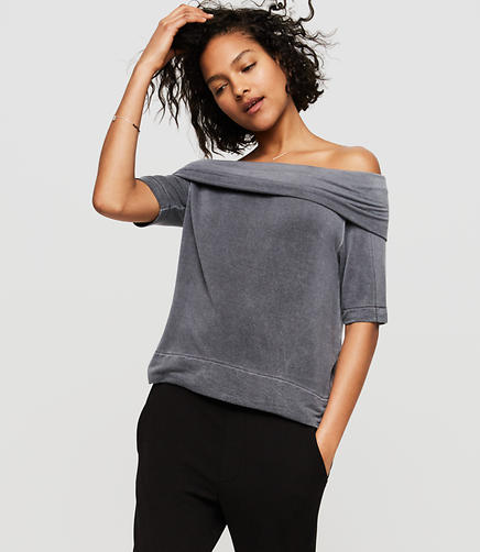 Image of Lou & Grey Signaturesoft Off The Shoulder Top