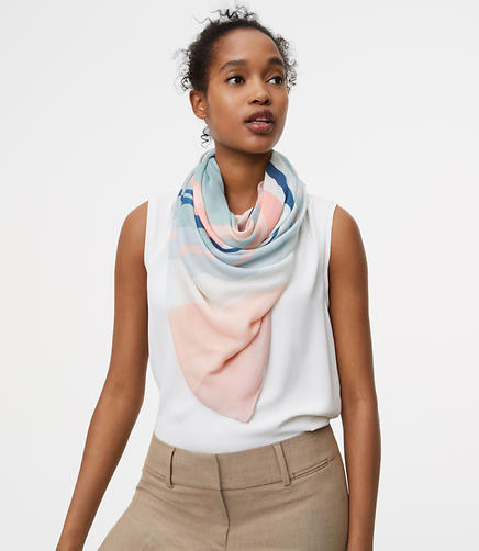 Image of Summer Floral Scarf