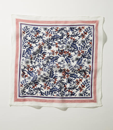 Image of Field Floral Square Scarf