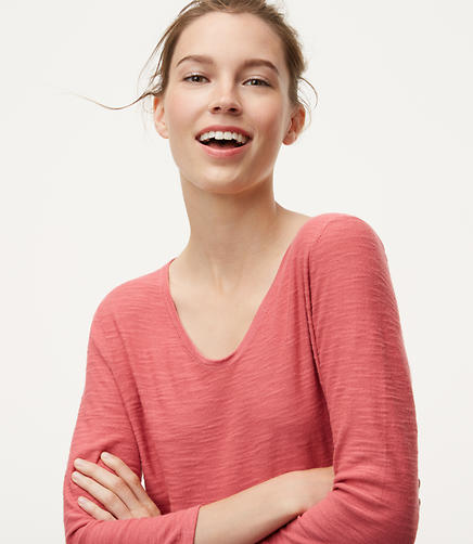 Image of Textured Shirttail Sweater