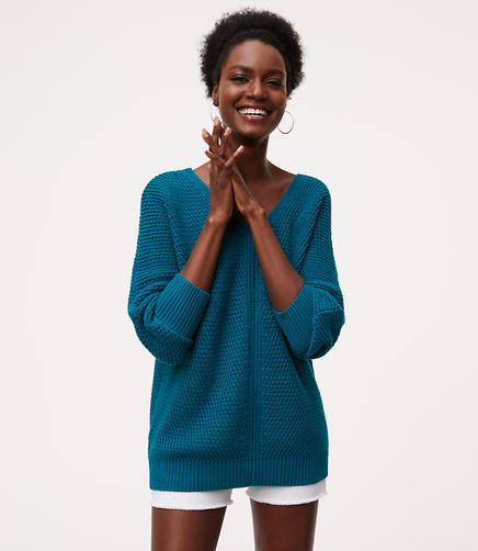 Image of Textured Dolman Sweater