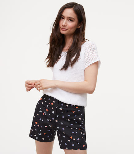 Image of Floral Riviera Shorts with 6 Inch Inseam