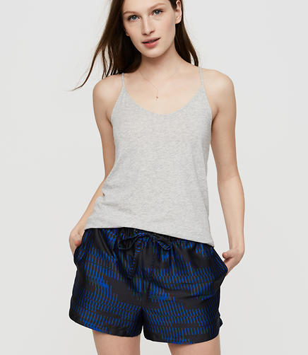 Lou & Grey Hotline Luster Drawstring Shorts