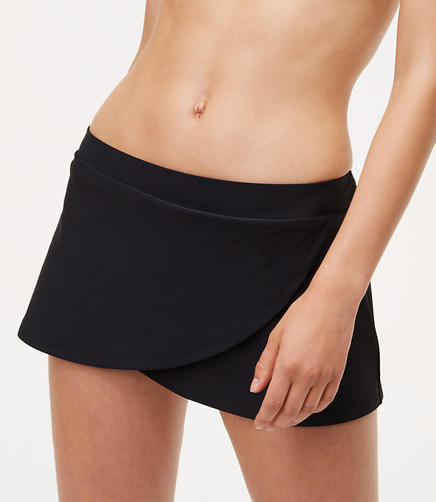 Image of LOFT Beach Skirt Bikini Bottom