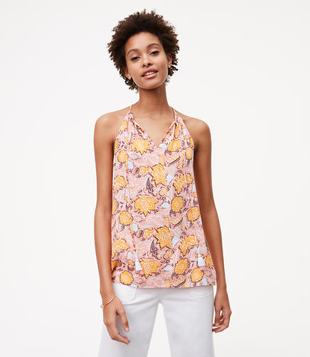 Image of Wildflower Tassel Strappy Cami