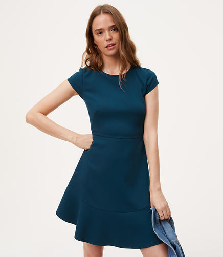 Image of Flounce Flare Dress