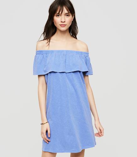 Image of Sundry Off The Shoulder Dress