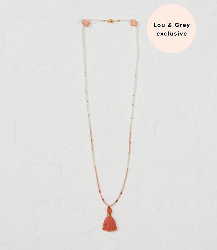 Izaskun Zabala Moonstone Delicate Mala Necklace