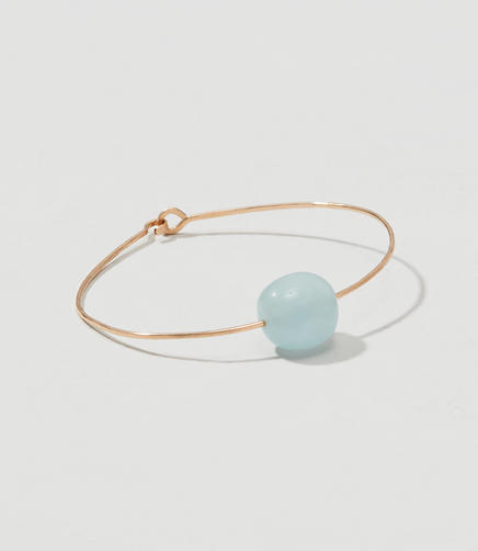 Image of Mary MacGill Aquamarine Cuff Bracelet