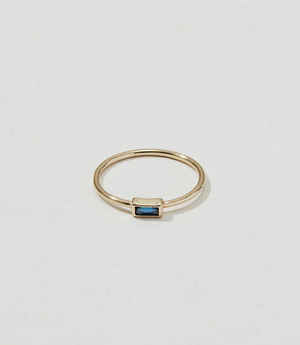 Image of Shashi Baguette Ring
