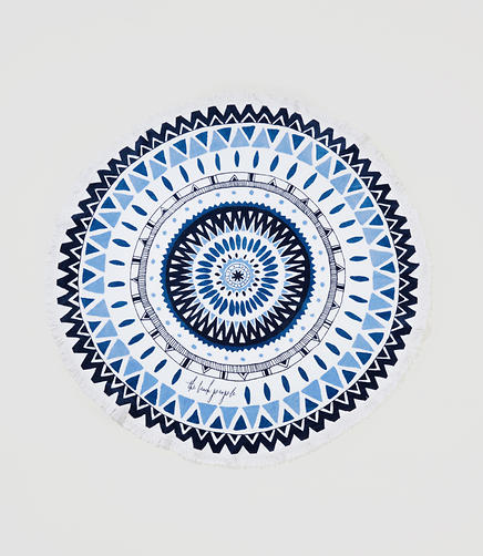 Image of The Beach People Majorelle Roundie Towel
