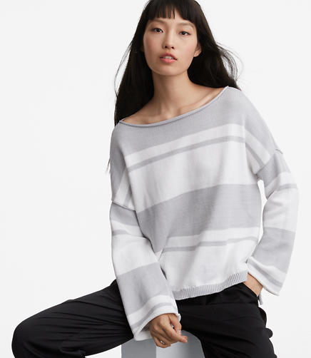 Image of Lou & Grey Striped Sweatshirt Sweater