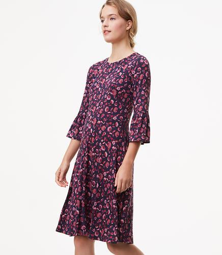 Dahlia Garden Flare Dress