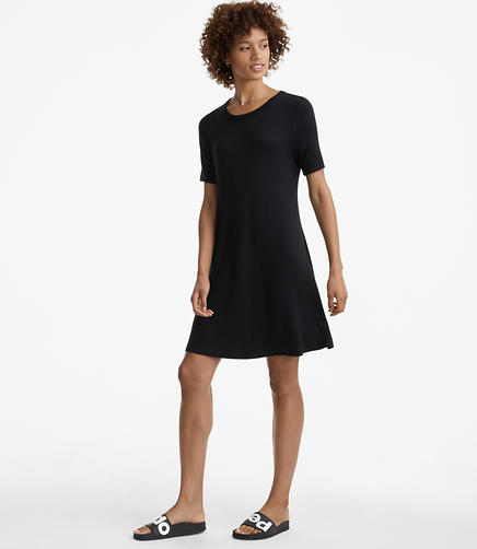 Image of Lou & Grey Seamed Signaturesoft Tee Dress
