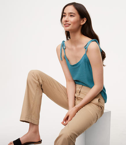 Image of Bootcut Chinos