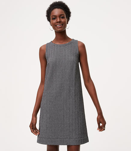 Image of Chevron Shift Dress