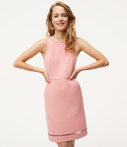 Image of Cutout Pocket Sheath Dress