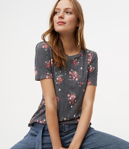 Image of Petaled Puff Sleeve Tee