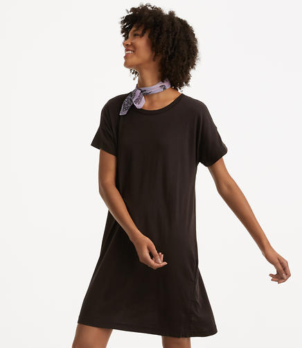 Image of Lou & Grey Softserve Cotton Tee Dress