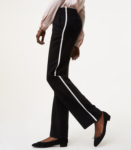 Image of Trousers in Tuxedo Stripe