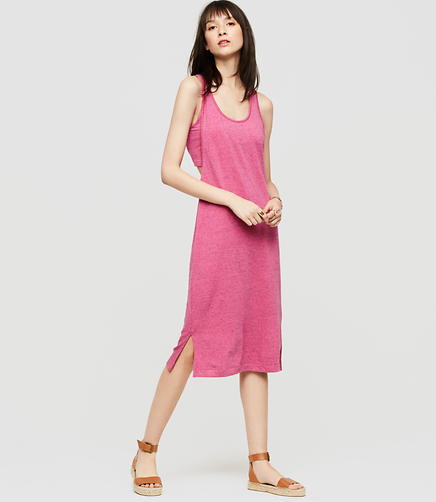 Image of Lou & Grey Signaturesoft Layered Tank Dress